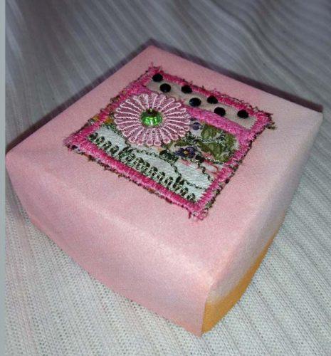 Fabricpaperbox mit Inchie